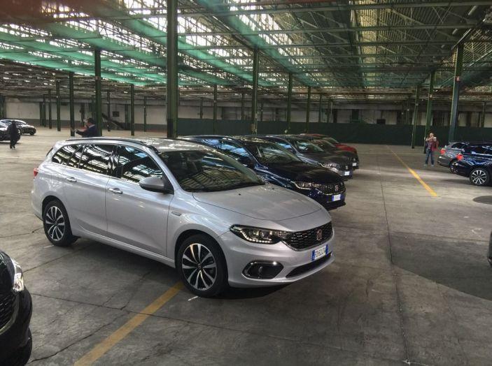 nuova fiat tipo 5 porte e station wagon: prova su strada