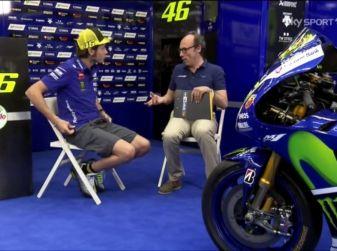 Valentino Rossi, l'intervista di Guido Meda al Mugello 2016 per Sky