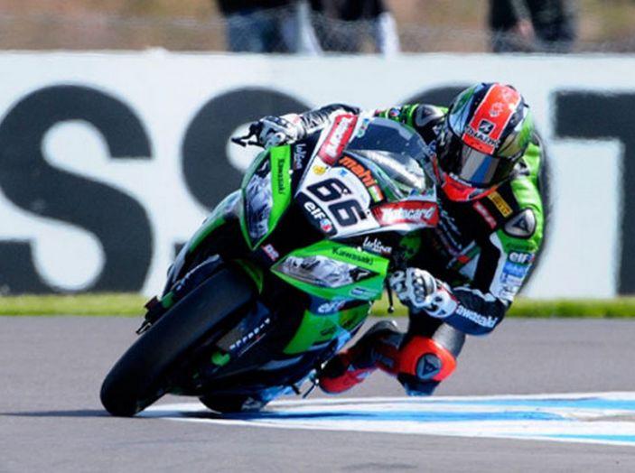 WorldSBK : sul Circuito di Donington Park la giornata è dominata dalle Kawasaki - Foto 6 di 6