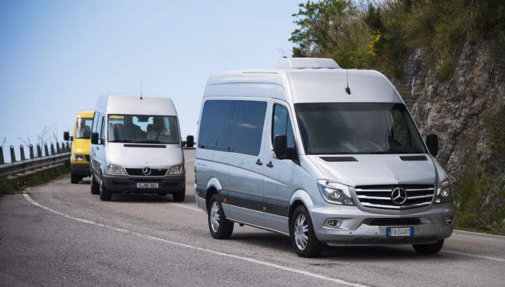 Mercedes Sprinter: prova su strada, allestimenti e prezzi - Foto 18 di 21
