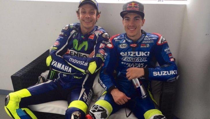 MotoGP, Maverick Vinales in Yamaha per 2017 e 2018 con Valentino Rossi - Foto 2 di 15