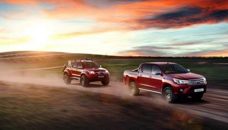 Nuovo Toyota Hilux e tutti i migliori pick up del 2016 - Foto 3 di 13