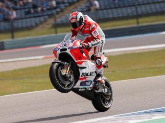 MotoGP 2016, Assen: Dovizioso primo nelle qualifiche, Rossi secondo