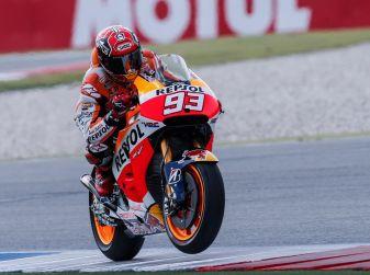 MotoGP 2016, Sachsenring: Marquez primo nelle qualifiche, Rossi terzo
