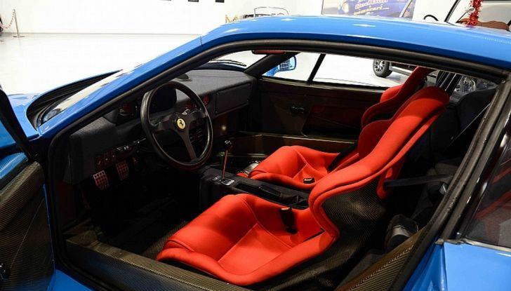 1992 ferrari f40 blue in vendita