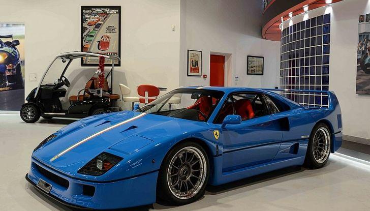 1992 ferrari f40 blue 2
