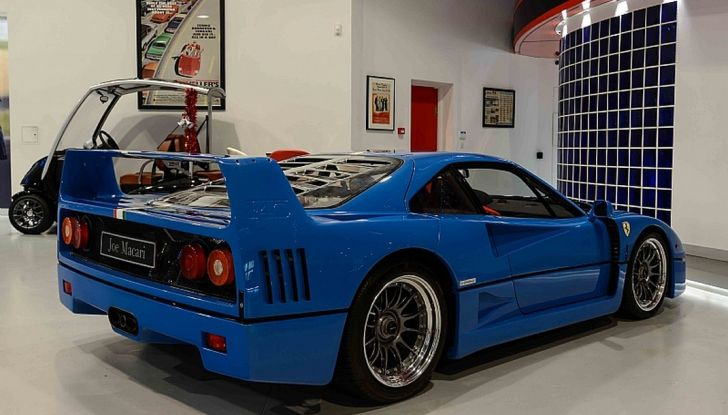 1992 ferrari f40 blue 7