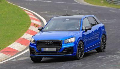 Audi SQ2 2017: le prime foto al Nürburgring