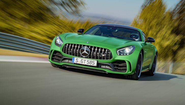 Nuova Mercedes AMG GT R: il V8 da 585CV e 700Nm - Foto 10 di 39
