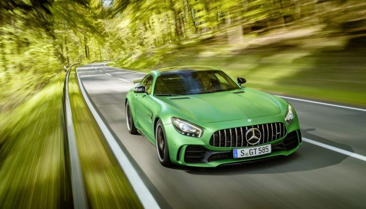 Nuova Mercedes AMG GT R: il V8 da 585CV e 700Nm - Foto 19 di 39