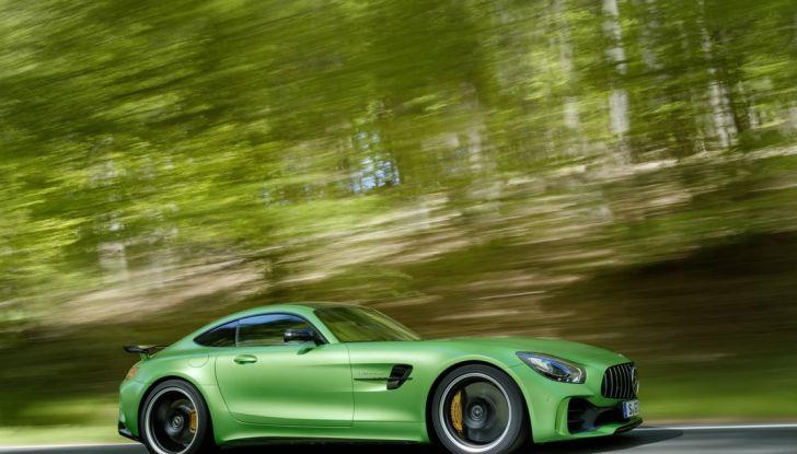 Nuova Mercedes AMG GT R: il V8 da 585CV e 700Nm - Foto 21 di 39