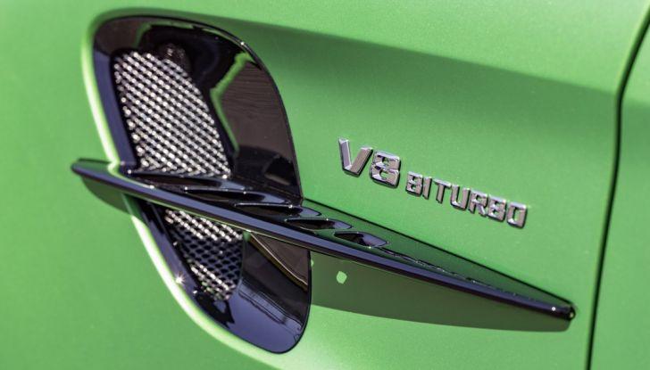 Nuova Mercedes AMG GT R: il V8 da 585CV e 700Nm - Foto 5 di 39