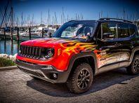La Jeep Renegade Hell's Revenge di Garage Italia Custom