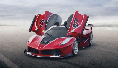 La Ferrari FXX K vince il premio Compasso d'Oro 2016