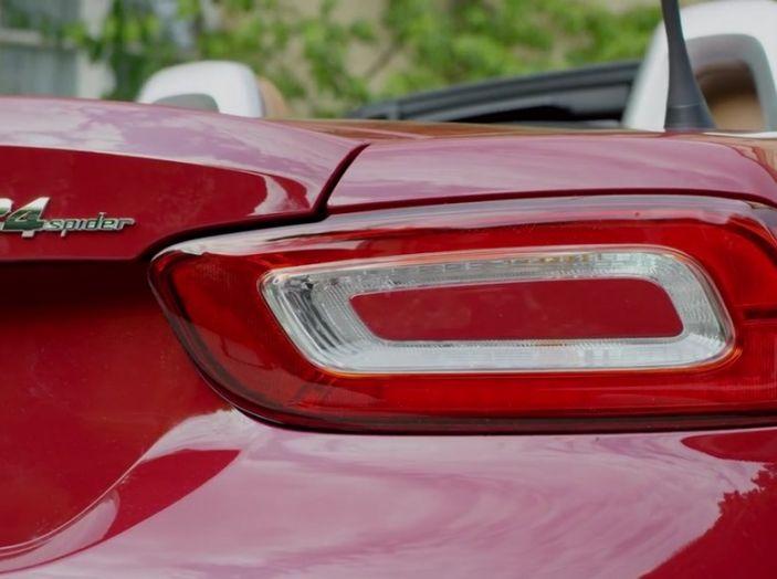 Fiat 124 Spider, fanale posteriore.