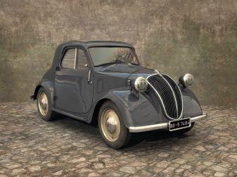 Fiat Topolino compie 80 anni