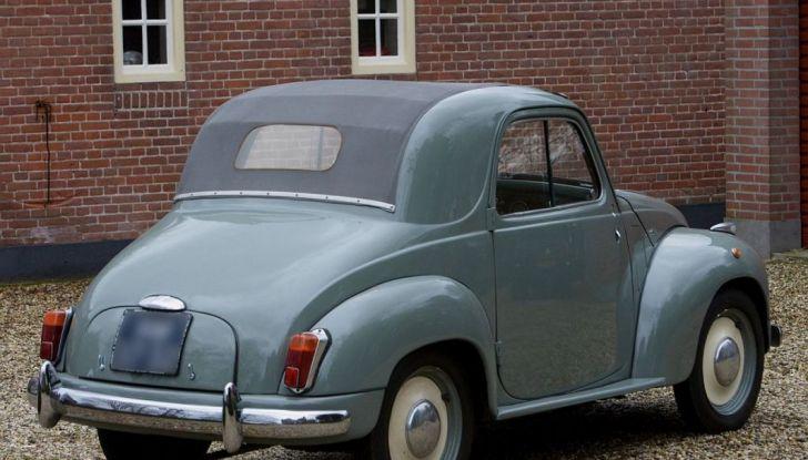 Fiat Topolino C posteriore.