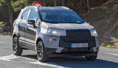 Ford EcoSport restyling: ecco le ultime foto spia