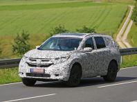 Honda CR-V: le immagini spia del prototipo in Germania