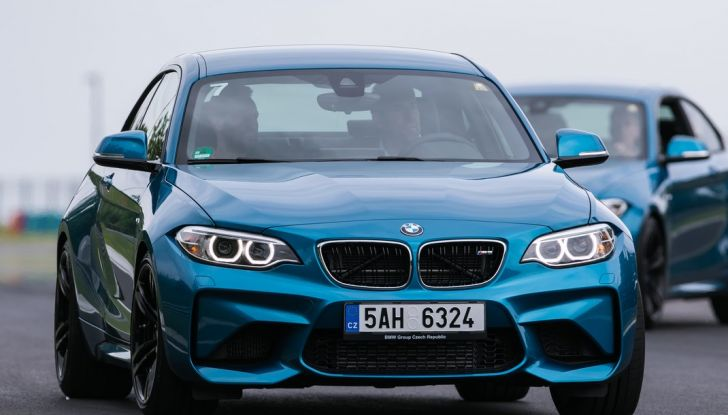 bmw m2 2016 prova Hungaroring