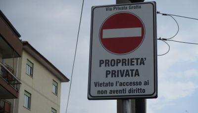 Codice della Strada: multe anche su strade private se aperte al traffico