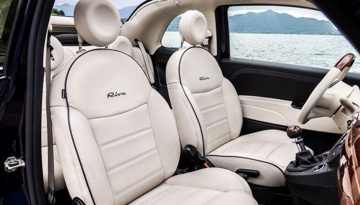 Nuova Fiat 500 Riva, la serie speciale al prezzo di 17.900 euro (7)