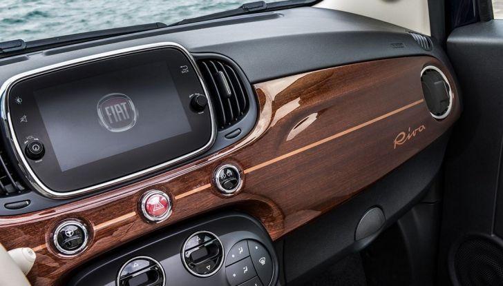 Nuova Fiat 500 Riva, la serie speciale al prezzo di 17.900 euro (8)