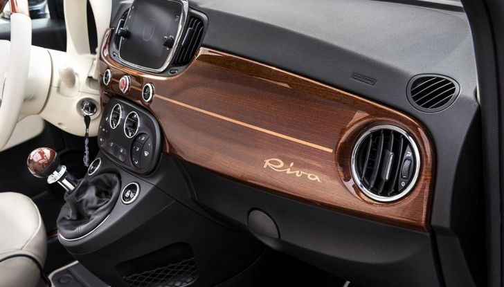Nuova Fiat 500 Riva, la serie speciale al prezzo di 17.900 euro (9)