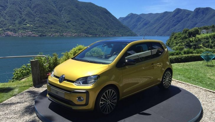 Nuova Volkswagen up! restyling, provata su strada