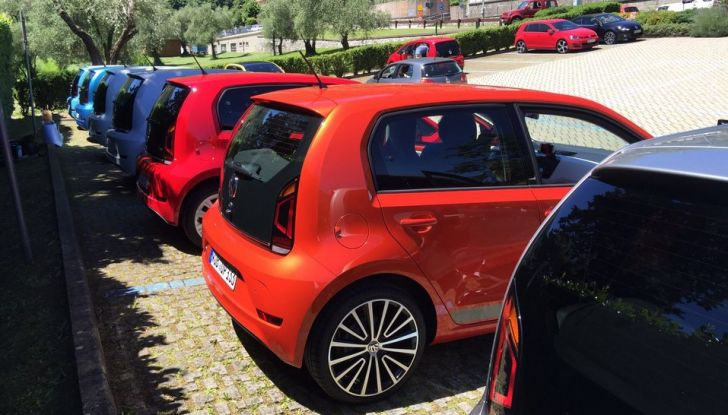 Nuova Volkswagen up! restyling, provata su strada la nuova citycar con un prezzo di 11.000 euro - Foto 16 di 16
