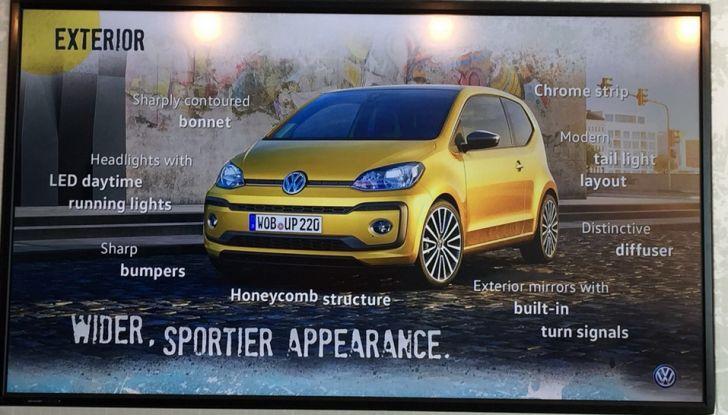 Nuova Volkswagen up! restyling, provata su strada la nuova citycar con un prezzo di 11.000 euro - Foto 12 di 16