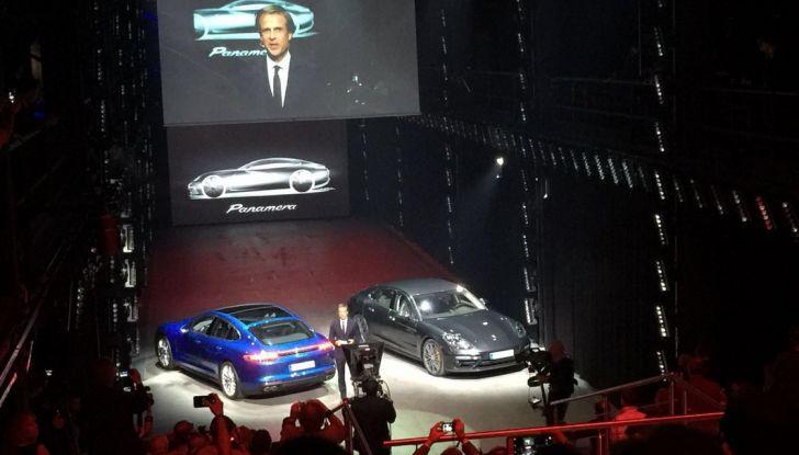 Nuova Porsche Panamera presentazione