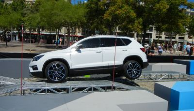 Nuova Seat Ateca: prova su strada, caratteristiche tecniche, motori e prezzi