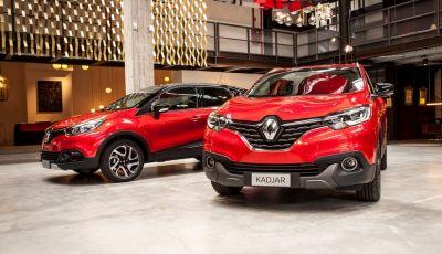 Renault Captur e Kadjar ancora più speciali con Hypnotic
