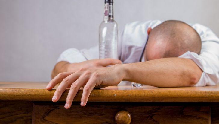 prevenire colpo sonno non assumere alcolici