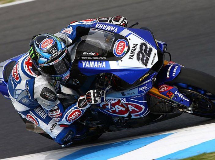 WorldSBK: il Team Aprilia Ioda Racing e il team Pata Yamaha al lavoro a Misano. - Foto 1 di 7