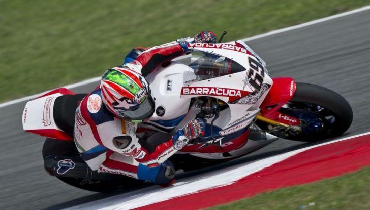 World Superbike: Nicky Hayden su Honda il più veloce a Misano - Foto 1 di 4