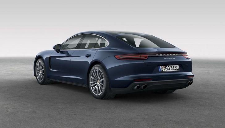 Nuova Porsche Panamera: dotazioni, motorizzazioni e prezzi - Foto 16 di 20