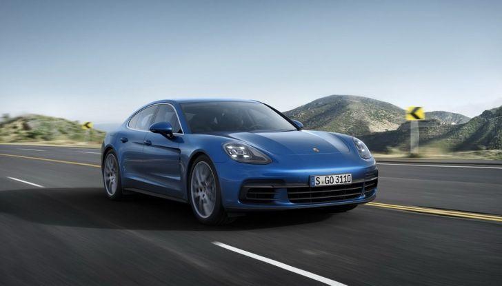 Nuova Porsche Panamera: dotazioni, motorizzazioni e prezzi - Foto 15 di 20