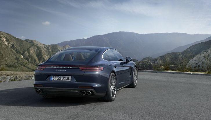 Nuova Porsche Panamera: dotazioni, motorizzazioni e prezzi - Foto 19 di 20