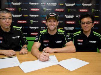 World Superbike: Tom Sykes firma per altri due anni con Kawasaki