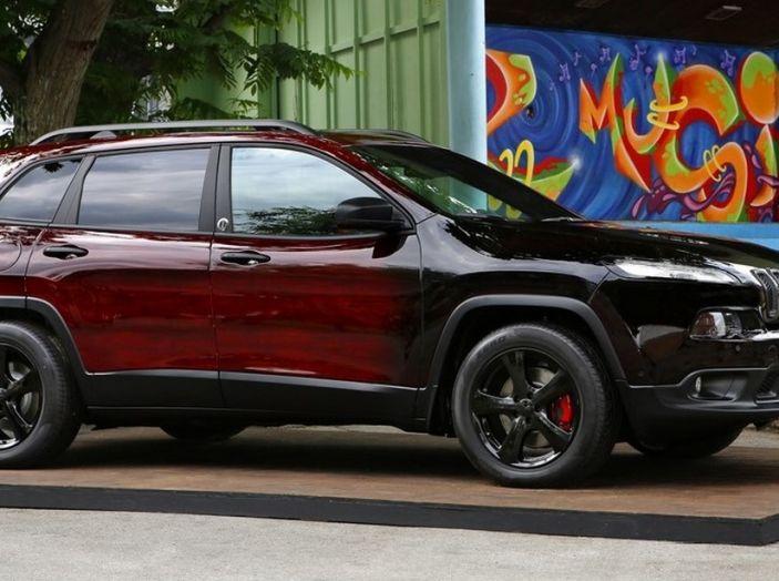Garage italia customs tre jeep al montreux jazz festival for Tre kit di garage per auto
