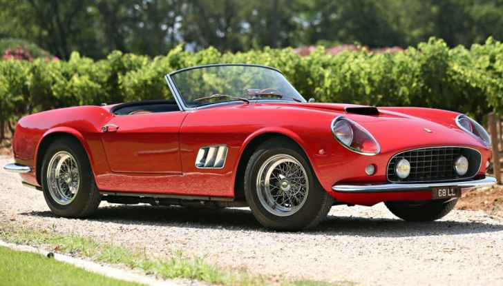 1961 Ferrari 250 spider California