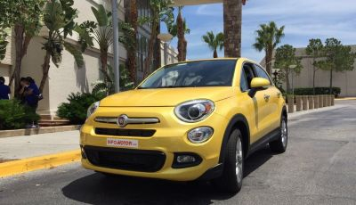 Infomotori sbarca negli USA per provare la nuova Fiat 500X 2.4 benzina automatico 9M