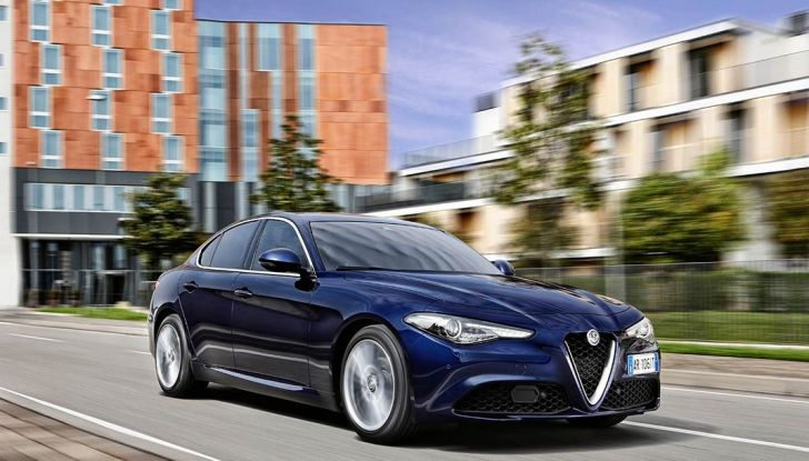 Alfa Romeo Giulia benzina 2.0 sbarca negli USA