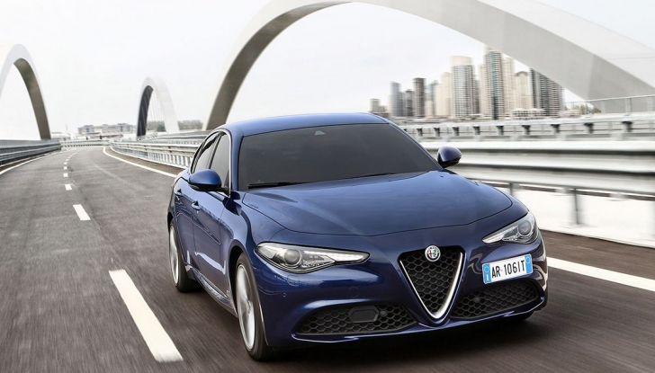 Alfa Romeo Giulia nuovo motore 200 CV (2)