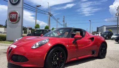 Alfa Romeo 4C Spider test drive in USA e impressioni di guida