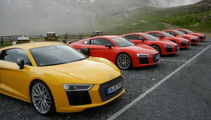 Audi r8 coupé V10 plus test drive