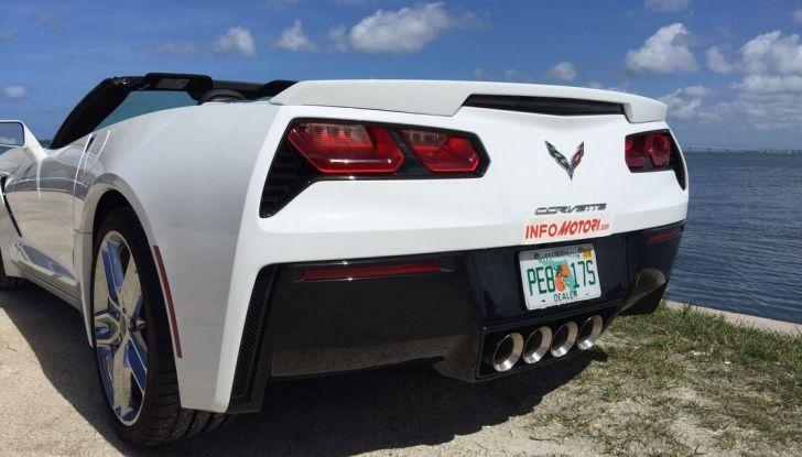 Test Drive: Chevrolet Corvette Cabrio 6.2 V8 provata negli USA - Foto 7 di 19