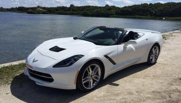Test Drive: Chevrolet Corvette Cabrio 6.2 V8 provata negli USA - Foto 1 di 19